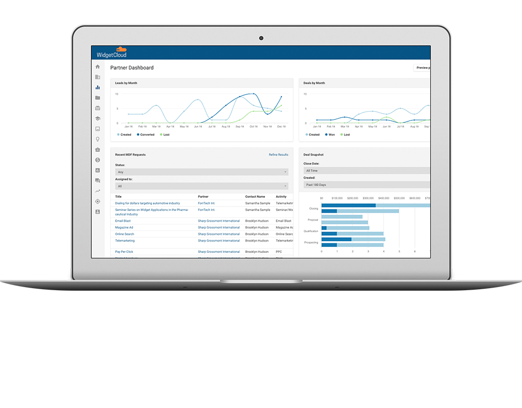 Partner Management Dashboard